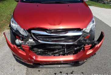 V prometni nesreči poškodovani 4 otroci
