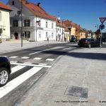 Župan občine Lenart zadovoljen s prometno ureditvijo mesta
