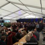 FOTO/VIDEO: Na Srečanju pihalnih godb treh dežel zaigralo več kot 200 godbenikov
