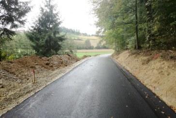 Letos nadaljevanje sanacije ceste od Spodnje proti Zgornji Voličini