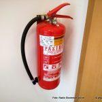 Na požarno varnost ne pozabimo niti na dopustu