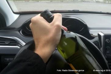 Problematika vožnje pod vplivom alkohola pri cestnih prekrških še vedno izstopa