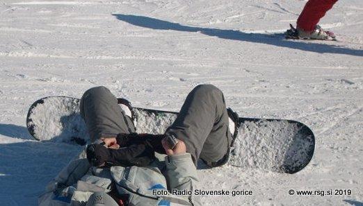 Smučarji naj upoštevajo pravila varnega smučanja
