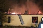 FOTO: Požar v Spodnji Bačkovi terjal dve življenji