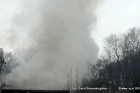 Vzrok današnjega požara v Lenartu samovžig