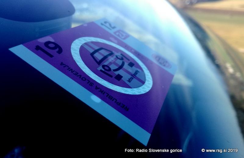 Po mariborski hitri cesti Pesnica - Tezno z januarjem brez vinjete