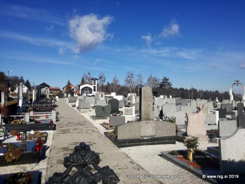 Na grobovih naj bo več živega, a manj rezanega cvetja