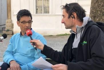 FOTO: Varuh človekovih pravic Peter Svetina se je v okviru  obiska v Lenartu ustavil tudi v socialnovarstvenem zavodu Hrastovec