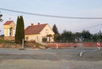 FOTO: Kako daleč je obnova državne ceste skozi Cerkvenjak?