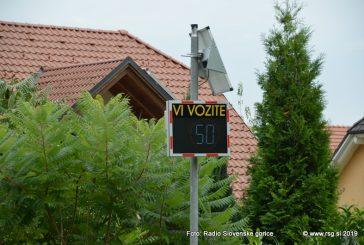 Prikazovalniki hitrosti tudi v občinah Benedikt, Kungota, Pesnica in Ptuj