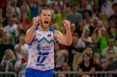 Slovenska odbojkarska reprezentanca v polfinalu domačega evropskega prvenstva