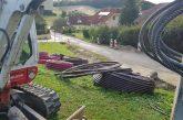 V občini Benedikt obnovili vodohran, še vedno pa obnavljajo cesto in urejajo optično omrežje