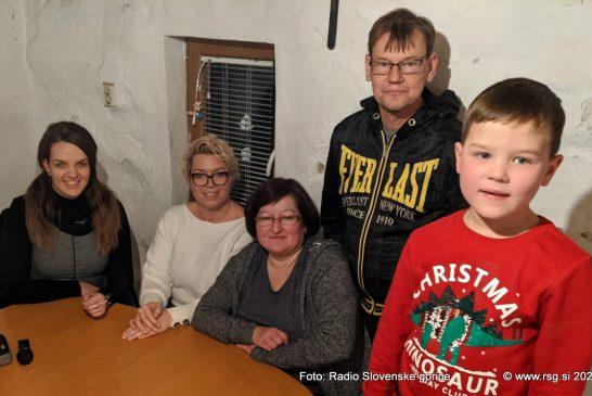 Obiskali smo družino Vasle v Vinički vasi