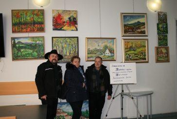 V Cerkvenjaku so obeležili 50 let umetniškega ustvarjanja Iva Lorenčiča
