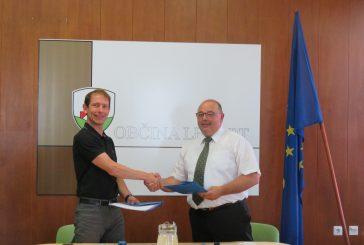 Podpis pogodbe za izgradnjo čistilne naprave Voličina