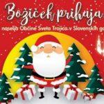Občina Sv. Trojica z Božičkom, darili in pozitivnimi zgodbami za lepši december