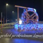 Sprehod po okrašenem Lenartu – Advent 2020
