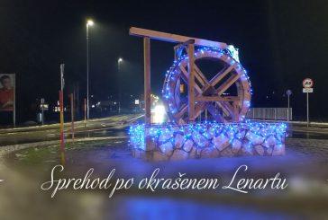 Sprehod po okrašenem Lenartu - Advent 2020