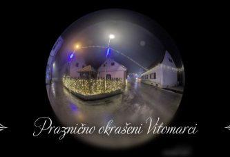 Skozi okrašene Vitomarce