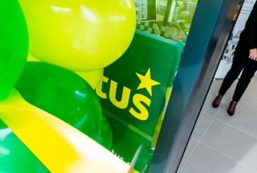 FOTO: V LENARTU SVOJA VRATA ODPRL SUPERMARKET TUŠ - TUŠOVA 101. TRGOVINA V SLOVENIJI